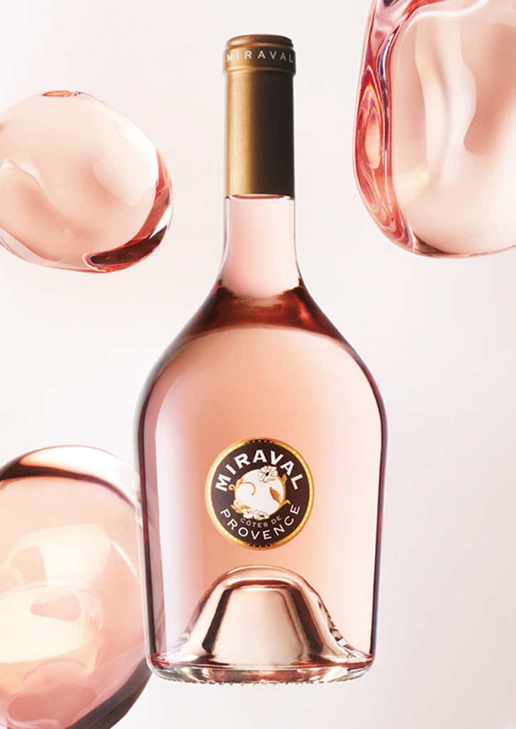 Photo bouteille Miraval