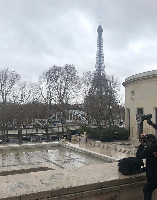 behind the scene shooting omedia paris