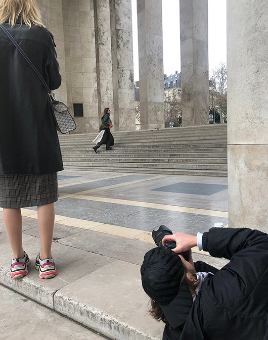 behind the scene shooting omedia
