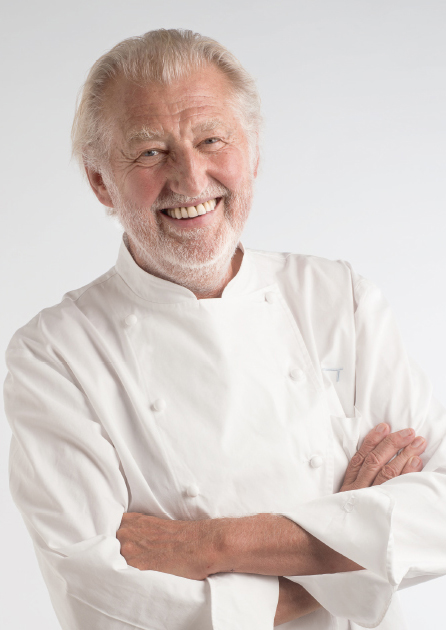 Pierre Gagnaire sourire