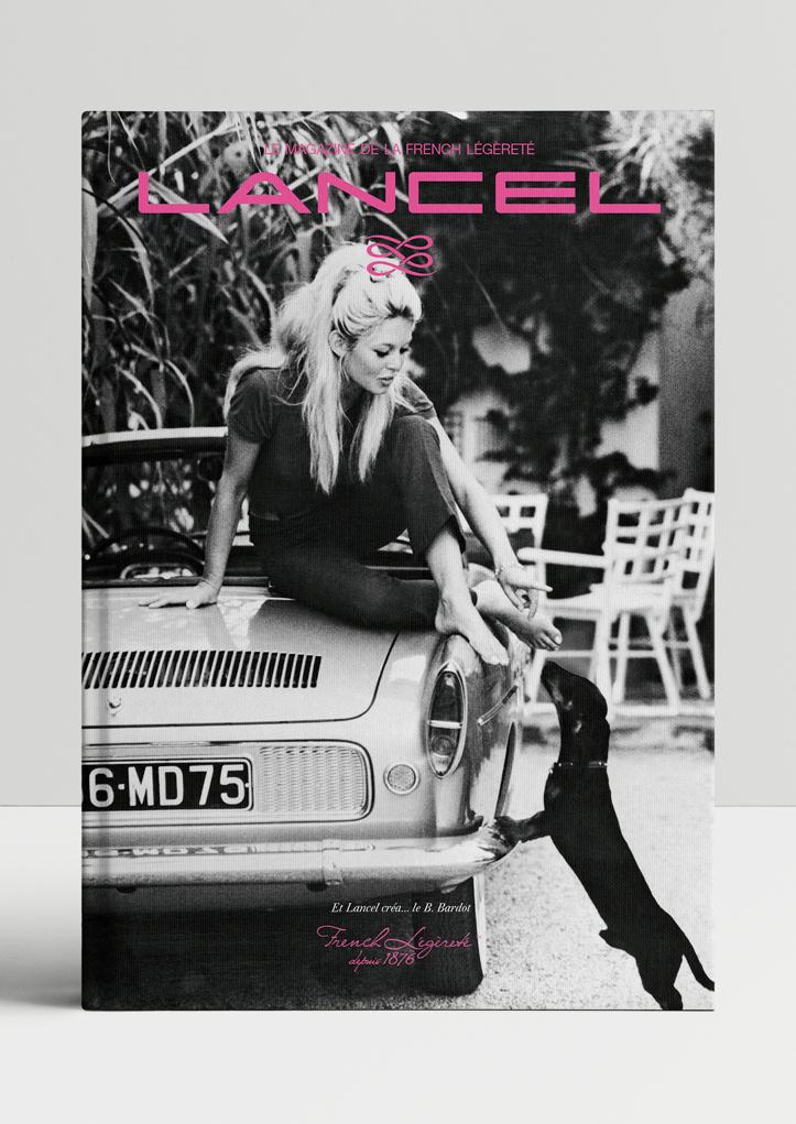 couverture magazine french legerete lancel