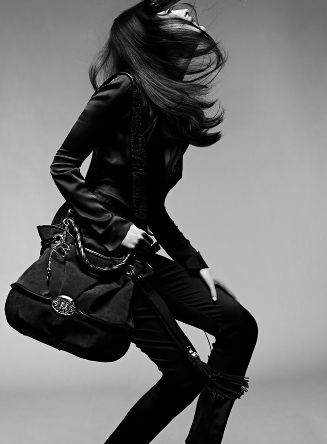 shooting femme sac french elegance magazine